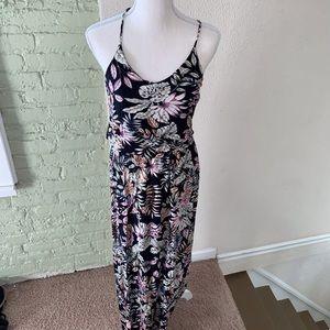 Lush Flower Maxi Dress